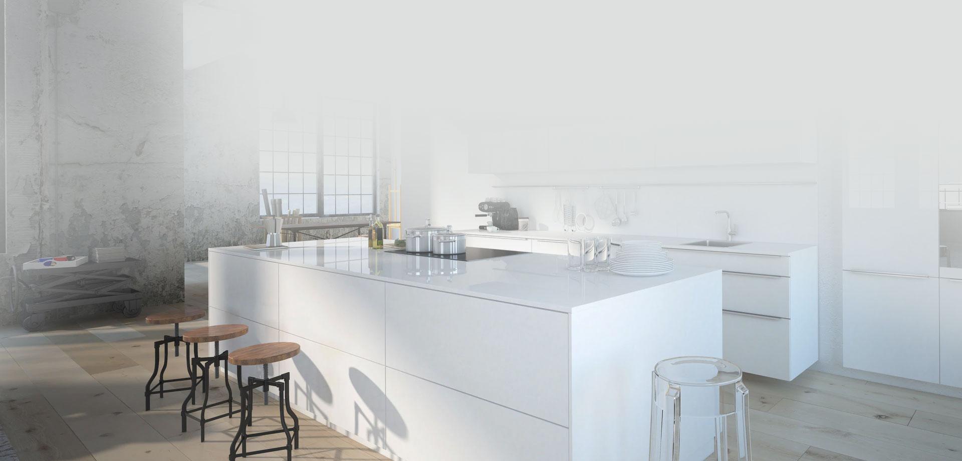 Les comptoirs de cuisines