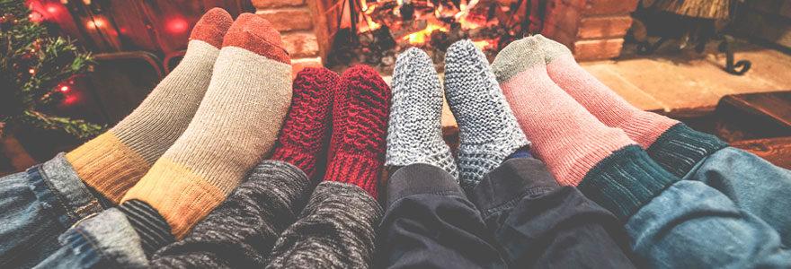 Modèles pour des pieds bien chauds