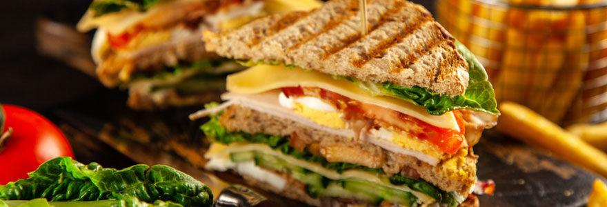 Sandwich pause repas